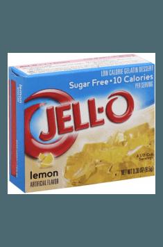 Sugar Free Gelatin Dessert