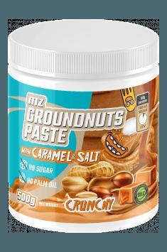 Groundnuts paste with carmel & Himalayan salt