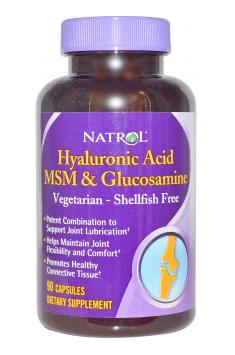 Hyaluronic Acid MSM & Glucosamine