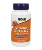 Vitamin D-3 & K-2 120 caps.