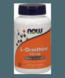 L-Ornithine 500mg 120 caps.