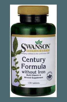 Century Formula without Iron