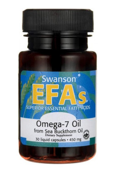 EFAs Omega-7 Oil from Buckthorn Oil 450mg