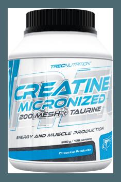 Creatine Micronized 200 Mesh + Taurine